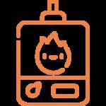caldera de condensación o estanca