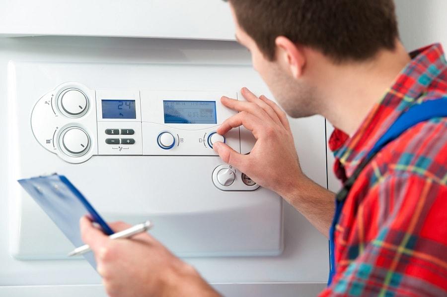 precio de revisión de la caldera de condensación